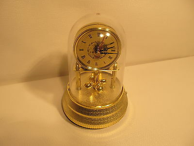 Battery operated musical anniversary clock (ref 510)