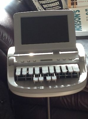 Stenograph Wave Student Machine *NEW* writer with reporting educational manuals