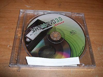 VHS To DVD 3.0 Deluxe Convert Your Videos To DVD/VCD NEW w/Product Key