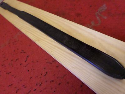 tawse/cane  2tail genuine hard leather ladies rare old  tawse