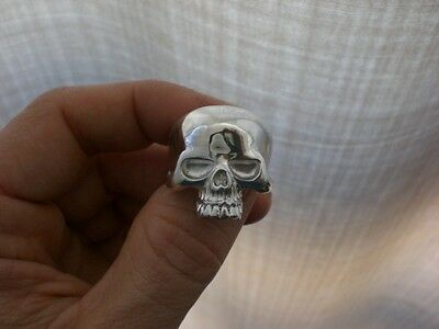 Skull silver ring-anillo calavera de plata 925 All sizes available