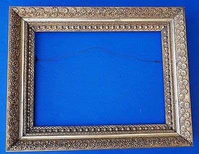 19th Century American Gold Gilt Picture Frame