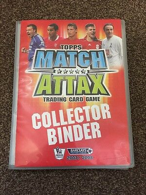 match attax Complete Collection 2007/2008 Includes 8 Limited Editions