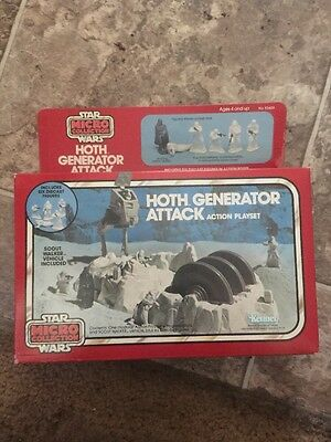 """Vintage Star Wars Hoth Generator Attack """"micro collection"""""""