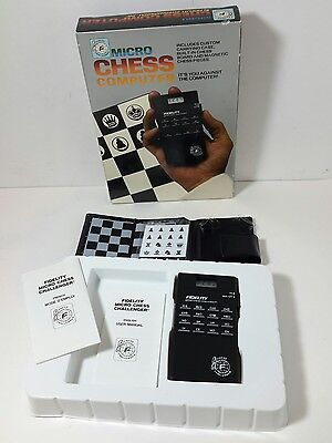 New Fidelity Micro Chess Electronic Computer 6096, Tested
