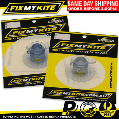 11mm FixMyKite Self-Stick Deflate Dump Kitesurf Repair Valve