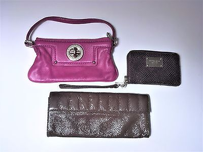 Marc Jacobs Michael Kors J Crew Lot Pochette Wristlet and Clutch