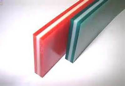 Screen printing squeegee material 12' rolls Triple Durometer 60/90/60 3/8x2x144