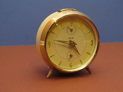 Vintage Mauthe Repeto alarm clock,made in Germany (ref 624)