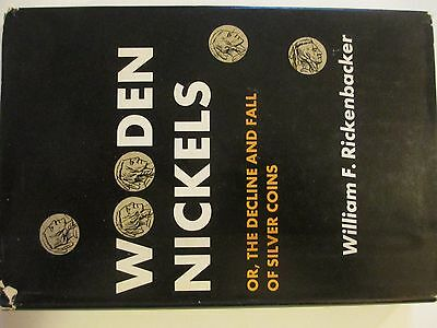 1966 William F. Rickenbacker Book on Wooden Nickels Hard Cover