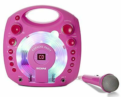 ION Audio Karaoke Party Impianto Karaoke Portatile con Luci LED Colorate, Altopa
