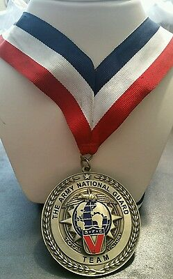 The Army National Guard Team S*F*E* Total Victory Medal (U.S.A.)