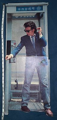 Huey Lewis and the News 1980's Cardboard Record Standee Display