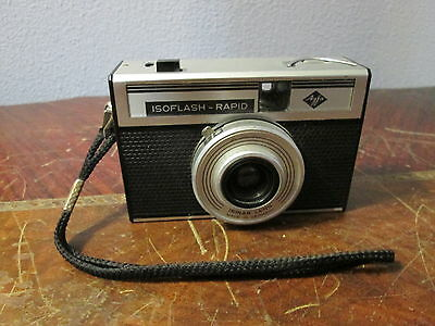 Vintage Agfa Isoflash-Rapid Camera w/ Isinar Lens - Germany
