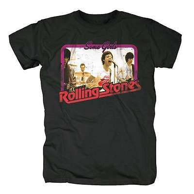 The Rolling Stones - Retro Photo (Some Girls) - Official Mens T Shirt