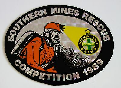 Southern Mines Rescue Competition Mining Sticker