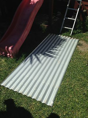 3 Panels Corrugated Iron Sheet Metal Roofing