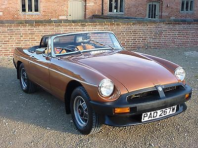 Mgb Le Roadster 1981 Covered 49K Miles From New - 4 Owners