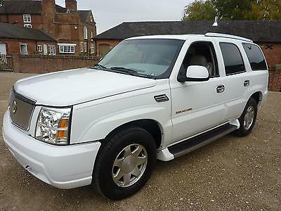 Cadillac Escalade Suv V8 6Ltr Auto - 2005 1 Previous Overseas Owner From New
