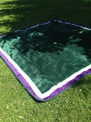 Large 2m x 2m Super Soft Picnic Blanket with Waterproof Backing