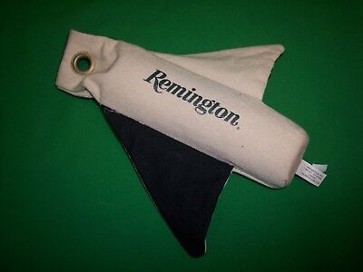 """Remington Dog Training Dummy ~ 12"""" Canvas Winged Retrieving Device & Scent Bands"""