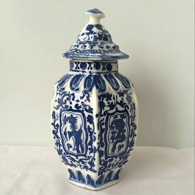 antique Three layer DaXingGuan of blue and white porcelain in ancient China