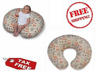 Original Boppy Pillow Cover Slipcover Baby Nursing Support OwlsFlowers Classic