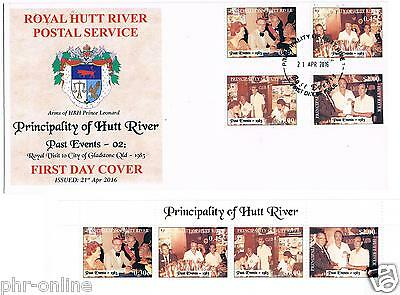 """Principality of Hutt River 2016 """"46th Anniversary"""" FDC + MUH """"Special Events 02"""""""