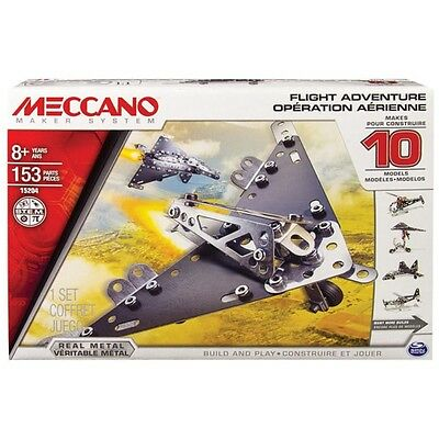 Meccano 10 Model Flight Set