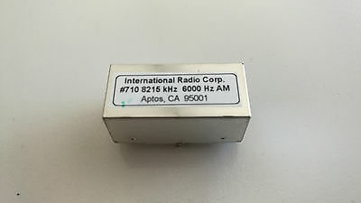 INRAD 710 Filter, 8215KHz IF - 6000Hz bandwidth, AM - SSB - ESSB Filter, FT-1000