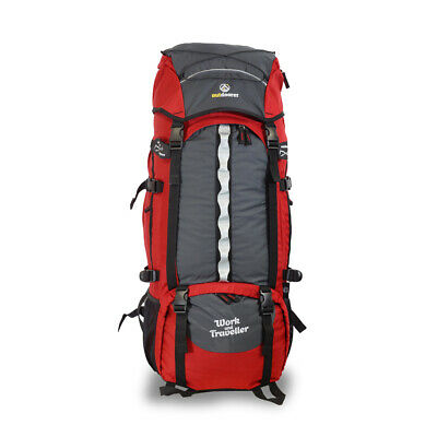 Work and Travel Rucksack von outdoorer Work and Traveller 75 10 – Frontzugriff