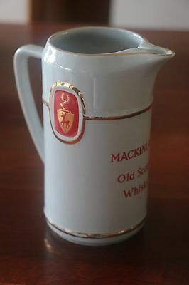 MACKINLAY'S OLD SCOTCH WHISKY JUG - Wade Pottery - Excellent...Bar Man cave