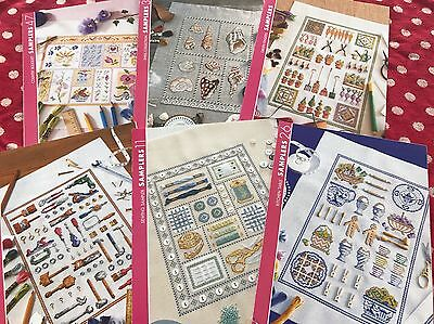 Cute Sampler Counted Cross Stitch Charts