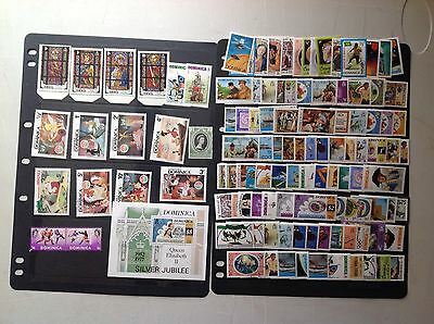 Dominica Mint & Used Stamps, Good Selection....