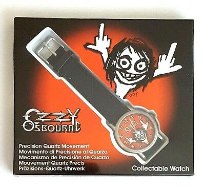 NEW RARE - Ozzy Osbourne Collectable Wrist Watch 1999 Monowise Limited Dingbats