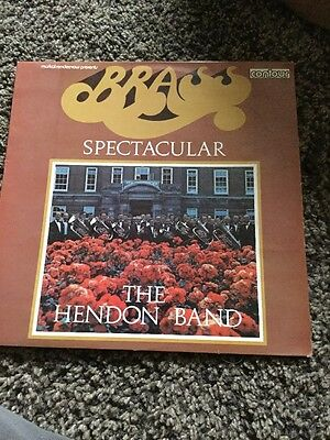 Vinyl Lp Brass Spectacular The Hendon Band