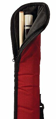 EastPoint Sports Soft Billiard Cue carry Case Pool Cue Stick Holder Bag Tube New