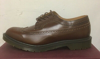 Dr. Martens 3989 Tan Boanil Brush  Leather  Shoes Size Uk 11
