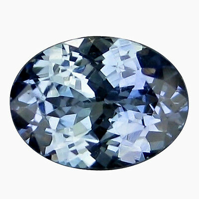 1.15 Ct Brilliant Sparkling Fire 100% Natural Purple Blue Tanzanite.
