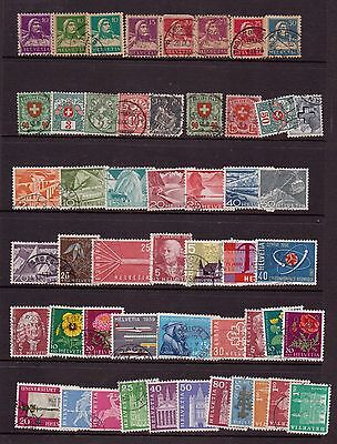 Switzerland fine used collection from earlies