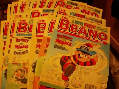 BEANO Comic 20 copies No. 2848 February 15th 1997 to No. 2867 June 28th 1997
