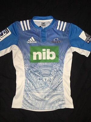 Brand New Mens Adidas Auckland Blues Jersey Small RRP $149.99