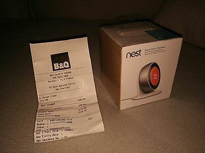 Nest Thermostat Stand, 3rd Generation (latest), White, New, Sealed. STAND ONLY