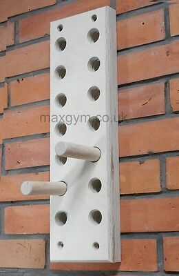 Max Gym , Climbing Hold, Training Board, Peg board climb 14 hole