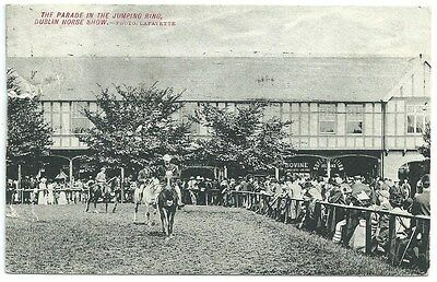 Vintage Postcard. The Parade, Dublin Horse Show. Used 1910. Ref:72428