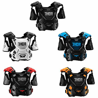 New Adult M/L Thor Guardian Body Armour Motocross BMX Enduro Quad ATV Protector