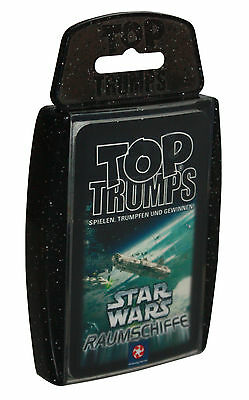 Top Trumps-Star Wars Raumschiffe-30 Spielkarten-Winning Moves 2006-neu-OVP