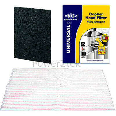 Vent Filter Kit For MOFFAT MATSUI MFI Cooker Hood Extractor Fan 48 x 58 cm