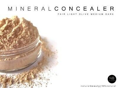 Multi-Task Mineral Make up Concealer Loose Powder Long Lasting Full Coverage