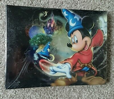 """Walt Disney World  """"Four Parks One World"""" Photo Album Collectable new and sealed"""